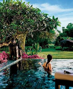 Spa in Chiang Mai, Thailand.