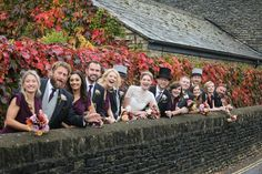 Claire & Nick's Cotswold wedding at The Swan in Bibury Wedding List, Wedding Car, Flower Girl Hairstyles, Bride Hairstyles, Bridesmaid Flowers, Bridesmaid Dresses, Uk Wedding Cakes, Swan Hotel, Celebrity Weddings