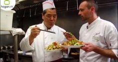 Rodrigo de la Calle nos enseña cómo se cocina en un wok