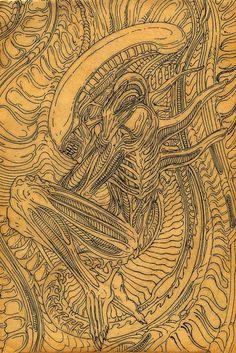 xenomorph art