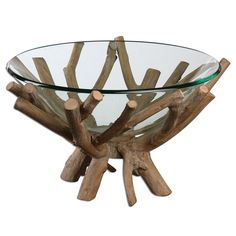online shopping for Diva At Home Rustic Lodge Style Decorative Clear Glass Bowl Wooden Base from top store. See new offer for Diva At Home Rustic Lodge Style Decorative Clear Glass Bowl Wooden Base Wooden Dough Bowl, Wood Bowls, Home Decor Accessories, Decorative Accessories, Babysitting Activities, Organic Glass, Wood Centerpieces, Deco Nature, Lodge Style