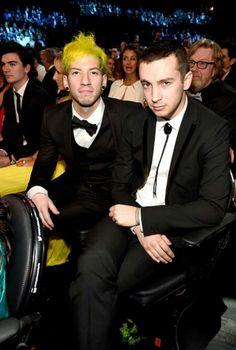 Josh y Tyler en los grammys