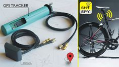 SHYSPY GPS tracker for bicycles | DESIGN TEMPTATION