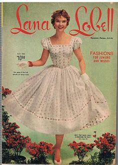 Flannery Crane Vintage Fashion: 1950s Vintage Dresses: Lana Lobell, Hanover, PA catalogs