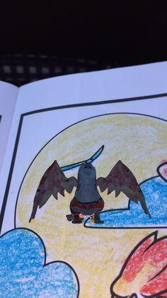 Animated Flying Dragon