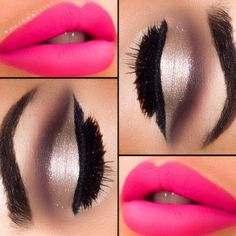 Three interesting makeup tricks! ❤ liked on Polyvore featuring beauty products, makeup, eyes, beauty and lips