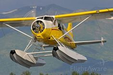 De Havilland Canada Beaver at Anchorage AK Private Pilot, Private Plane, Private Jet, Sea Plane, Float Plane, Aircraft Maintenance Manual, Light Sport Aircraft, Bush Pilot, Plane And Pilot