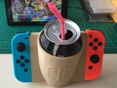 Nintendo Switch Cup Holder - Switch Nintendo - Switch Nintendo for sales - - Nintendo Switch Cup Holder! Nintendo 3ds, Nintendo Switch Games, Nintendo Switch System, Gaming Headset, Gaming Computer, Gaming Merch, Consoles, Nintendo Switch Accessories, Gaming Accessories