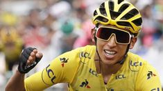 Egan Bernal will be crowned the Tour de France winner on the Champs-Élysées after keeping hold of the yellow jersey during a shortened penultimate stage Chris Froome, Cycling Workout, Pro Cycling, Vincenzo Nibali, Champs Elysees, Espn, Oakley Sunglasses, South America, Champion
