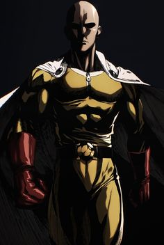 Rendered out some [ONE PUNCH MAN] wallpapers because not enough bald guys in yellow leotard on this sub - Checkout more news on www.plexushub.co.uk