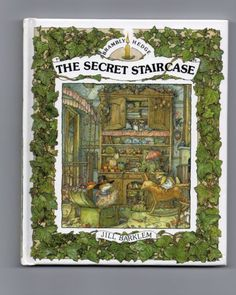 Brambly Hedge Book Hard Back The Secret Staircase Jill Barklem My favorite children's books! So wish my house had had one of these :-) Brambly Hedge, Book Jewelry, Preschool Books, Holly Hobbie, Hedges, Childrens Books, Illustrators, Illustration Art, Book Illustrations