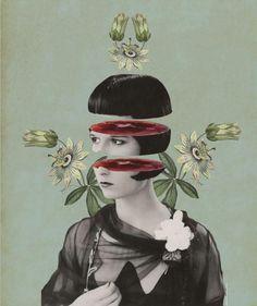 #photo #digital #collage artist Julia Geiser