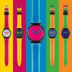 #Swatch bicoloured