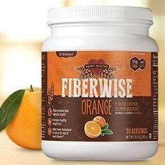 Melaleuca FiberWise Heart Healthy-Fiber Supplement-30 Servings-Net WT. 28.6 OZ.(810g)-Citrus Orange