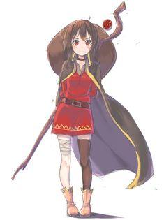 /c/ - Anime/Cute Konosuba Anime, Chica Anime Manga, Anime Art, Manga Girl, Girls 4, Cute Girls, Cool Girl, Megumin Explosion, Konosuba Wallpaper