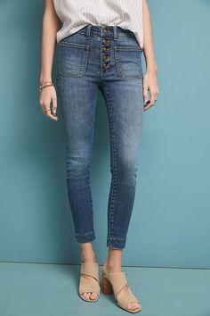4ad0eb90bca2a Pilcro High-Rise Denim Leggings | Anthropologie Denim Leggings, Weekend  Wear, Exclusive Collection