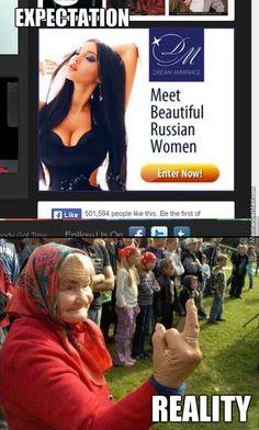 Russian Women #Meme #FunnyMeme