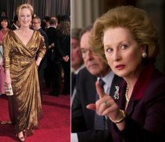 Incredible Movie Makeup Transformations22-Meryl Streep,The Iron Lady