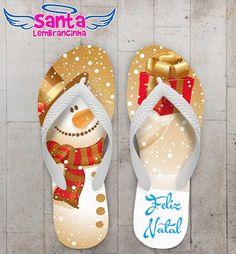 Chinelo Personalizado Natal