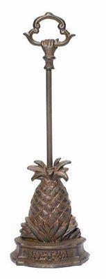 Doorstops 36022: Cast Iron Pineapple Door Porter ~ Pineapple Doorstop, New, Free Shipping -> BUY IT NOW ONLY: $42.27 on eBay!