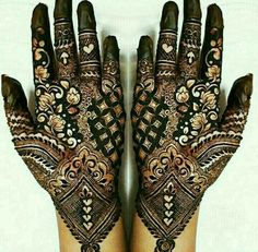 42 New Arabic Mehndi Designs for Every Occasion Kashee's Mehndi Designs, Stylish Mehndi Designs, Mehndi Designs For Girls, Mehndi Design Pictures, Wedding Mehndi Designs, Mehndi Designs For Fingers, Beautiful Henna Designs, Beautiful Mehndi, Mehndi Images