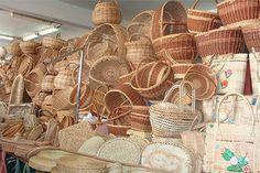 Le marché à Ste Lucie