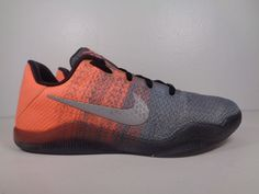 0be600325 Kids Nike Kobe XI 11 Easter Grey Mango Mamba Basketball shoes size 5 US  Youth