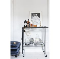 Bar cart with casters - possible use of my material (cast polyamide) for the casters