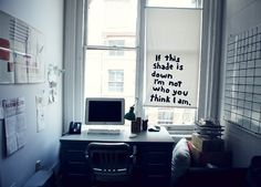 David Byrne's office.