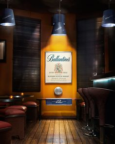 Ballantines Scotch Whisky on Digital Art Served