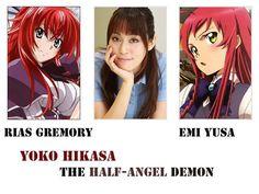Rias Gremory & Emi Yusa voiced by Yoko Hisa