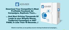 Case Study: Replicate Campaigns of Top FB Affiliates using Adsiver.