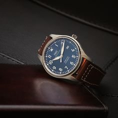 """IWC Pilot's Watch Mark XVIII Edition """"Le Petit Prince"""". Ref. IW327004 #IWCPilot #IWCBlueDial #IWCWatches"""