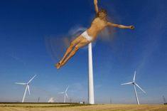 Jesus As A Wind Turbine by rachydachy & phildesignart