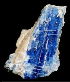 Blue kyanite Did you know kyanite is one of the only crystals that doesn't need to be energetically cleared because it only emits energy, and doesn't absorb it.  #Crystalhealing #Bluekyanite