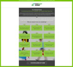 Sales Talent Academy - Web Design by Web Design Clinic