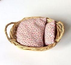 Lettino per bambole giocattolo con materasso cuscino trapunta fatto a mano, regalo bambini
