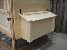 If you missed it, here's part 1 .   More work completed on the chicken coop.   These photos were taken just after I finished all the hen hou...