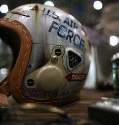US Airforce helmet #motorcycle #motorbike