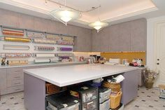 Gift Wrapping Station   Gift Wrapping Rooms   Craft Room Organization #Pin the Season