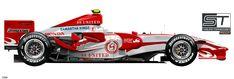 F1 2007, Honda, Racing, The Unit, Car, Vehicles, Auto Racing, Running, Automobile