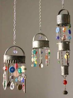 Vintage cookie cutter chandeliers @ DIY Home Crafts