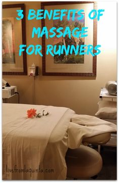 I just happen to have a massage therapist in my house! | 3 Benefits of Massage for Runners