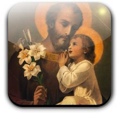 "St. Joseph - Everything we know about the husband of Mary and the foster father of Jesus comes from Scripture. We know he was a carpenter, a working man, for the skeptical Nazarenes ask about Jesus, ""Is this not the carpenter's son?"" (Matthew 13:55). He wasn't rich for when he took Jesus to the Temple to be circumcised and Mary to be purified he offered the sacrifice of two turtledoves or a pair of pigeons, allowed only for those who co"