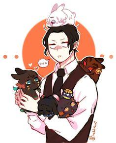 Read Kimetsu No Yaiba / Demon slayer full Manga chapters in English online! Anime Angel, Anime Demon, Manga Anime, Slayer Meme, Cute Baby Cats, Manga Cute, Demon Hunter, Dragon Slayer, Cute Anime Character