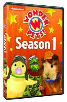 Cover image for Wonder Pets! Complete season 1 [videorecording (DVD)]