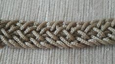 Crochet Stitches, Crochet Patterns, Crochet Handles, Lucet, Macrame Knots, Chain Stitch, Cardigans For Women, Crochet Clothes, Crochet Necklace
