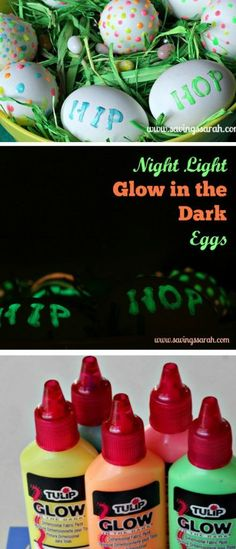Want the freedom to do an Easter Egg hunt both day and night? Check out these easy Glow in the Dark Easter Eggs.