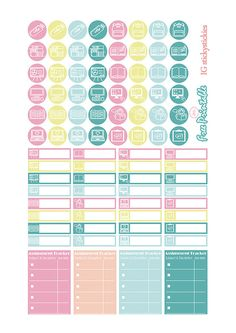 """Planner & Journaling Printables ❤ Free Printable Planner Sticker Set """"College Life"""" 