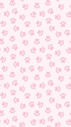 iPhone and Android Wallpapers: Pink Paw Print Wallpaper for iPhone and Android iPhone und Android Hintergrundbilder: Pink Paw Print Wallpaper für iPhone und Android Kawaii Wallpaper, Pastel Wallpaper, Print Wallpaper, Wallpaper Iphone Cute, Tumblr Wallpaper, Mobile Wallpaper, Wallpaper Backgrounds, Flamingo Wallpaper, Girl Wallpaper